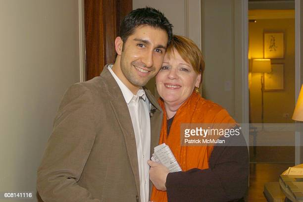 Elad Yifrach and Jacqui Farina attend MICHAEL S SMITH AGRARIA COLLECTION LAUNCH at Lowell Hotel on April 18 2007