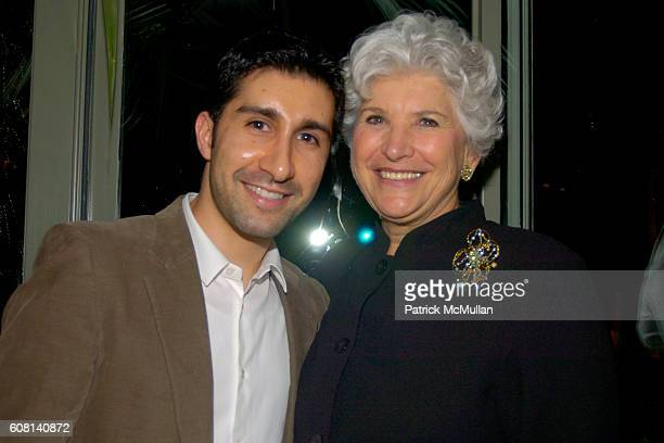 Elad Yifrach and Paula Cohen attend MICHAEL S SMITH AGRARIA COLLECTION LAUNCH at Lowell Hotel on April 18 2007