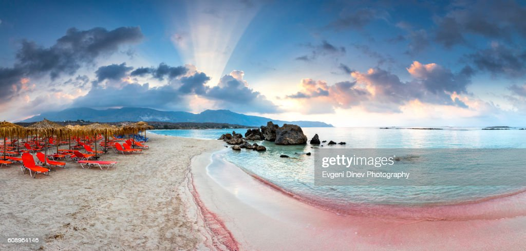 Elafonissi Beach : Stock Photo