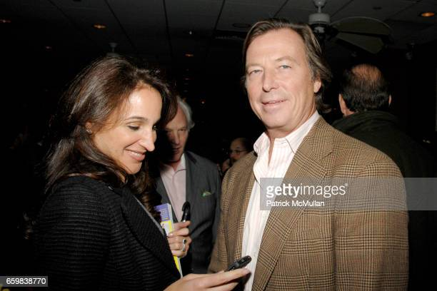 Elaina Scotto and Bruce Colley attend Book Party for JILL MARTIN'S FASHION FOR DUMMIES at Fresco On The Go on November 12 2009 in New York