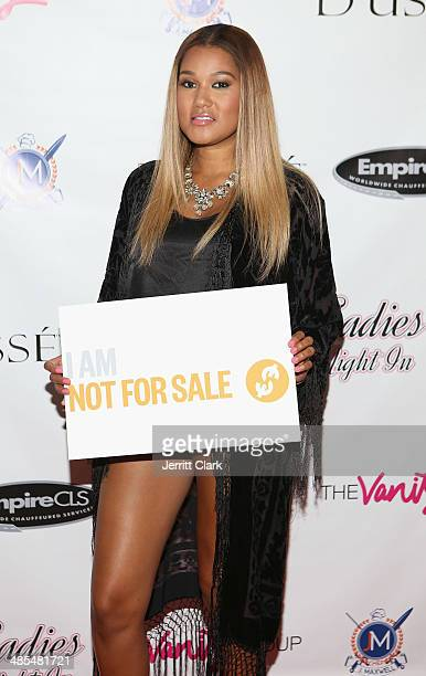 Elaina Watley hosts Ladies Night In Benefiting Not For Sale on April 17 2014 in Alpine New Jersey