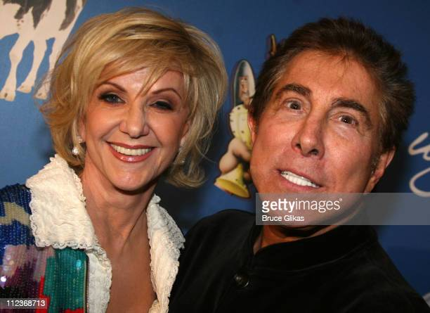 """Elaine and Steve Wynn during Opening Night For """"Spamalot"""" At The Wynn Las Vegas - Arrivals at Wynn Hotel & Casino in Las Vegas, Nevada, United States."""