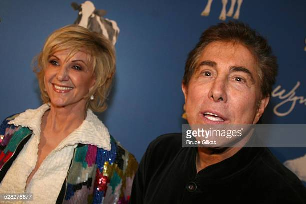 Elaine and Steve Wynn during Opening Night For Spamalot At The Wynn Las Vegas - Arrivals at Wynn Hotel & Casino in Las Vegas, Nevada, United States.