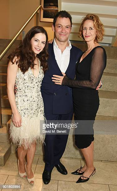 Elaine Cassidy Dominic West and Janet McTeer attend an after party following the press night performance of the Donmar's Les Liaisons Dangereuses at...