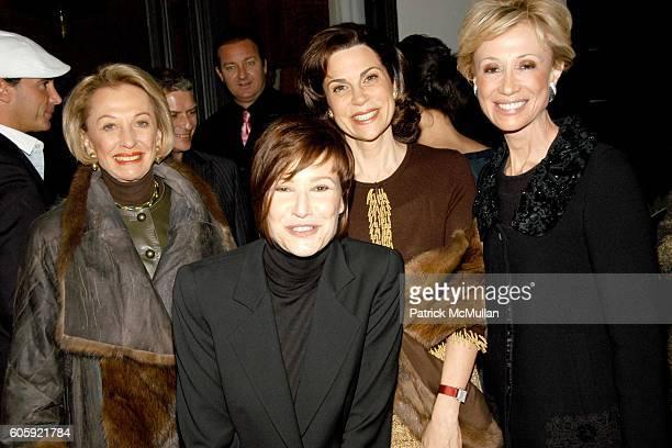Elaine Goldsmith Rosemany Brantley Lisa Janian and Joyce Arad attend Trina Turk's Haute Garden Party Fashion Alisters celebrate 25 years of Otis...