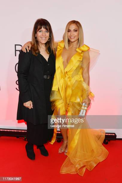Elaine GoldsmithThomas and Jennifer Lopez attend the Hustlers premiere during the 2019 Toronto International Film Festival at Roy Thomson Hall on...