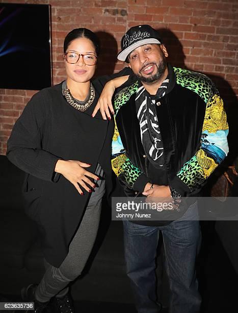 Elaine Hamilton and Nick Storm attend DJ Suss One Birthday Celebration at The Loft on November 15 2016 in New York City