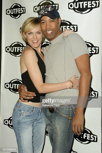 "Elaine Hendrix and Bruce Daniels during ""Coffee Date"" Los Angeles Premiere at Outfest at DGA Theater in Los Angeles, California, United States."