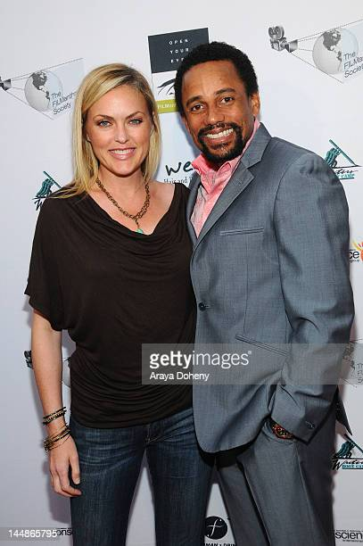 Elaine Hendrix and Hill Harper arrive at the 2012 FILManthropy Festival Torch Awards Gala showcasing films that inspire and raise awareness to create...
