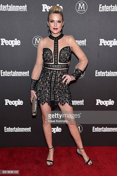 Elaine Hendrix attends the Entertainment Weekly & People Upfronts party 2016 at Cedar Lake on May 16, 2016 in New York City.