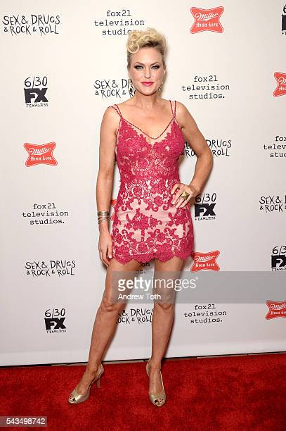 """Elaine Hendrix attends the """"Sex&Drugs&Rock&Roll"""" Season 2 Premiere at AMC Loews 34th Street 14 theater on June 28, 2016 in New York City."""