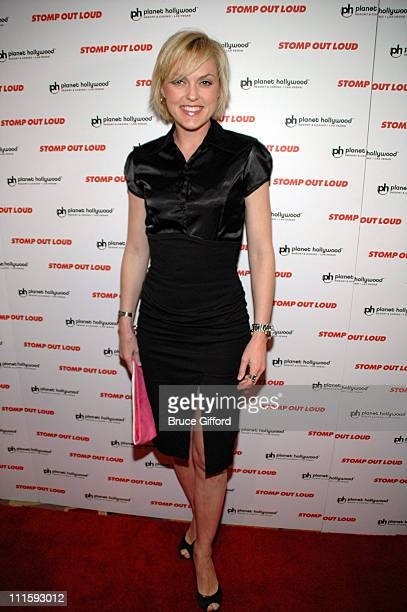 Elaine Hendrix during Bruce Willis Helps Launch The First Phase of Planet Hollywood Resort & Casino at Planet Hollywood Resort & Casino in Las Vegas,...