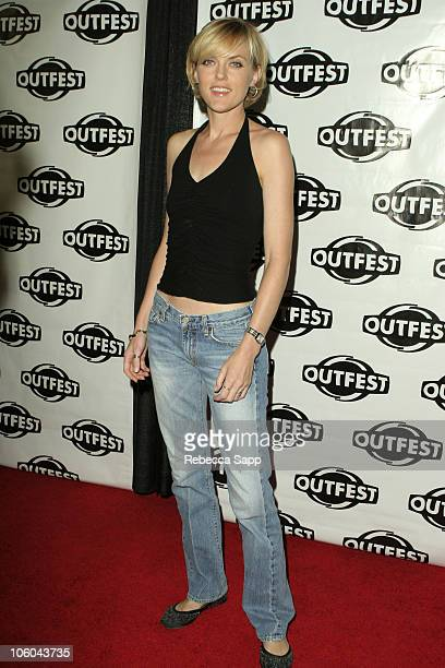 "Elaine Hendrix during ""Coffee Date"" Los Angeles Premiere at Outfest at DGA Theater in Los Angeles, California, United States."