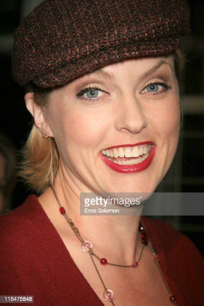 Elaine Hendrix during LG Mobile TV Party at Stage 14 - Paramount Studios in Hollywood, CA, United States.