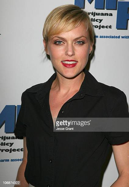 Elaine Hendrix during Marijuana Policy Project Celebrity Fundraiser at the Playboy Mansion in Beverly Hills - March 30, 2006 at Playboy Mansion in...