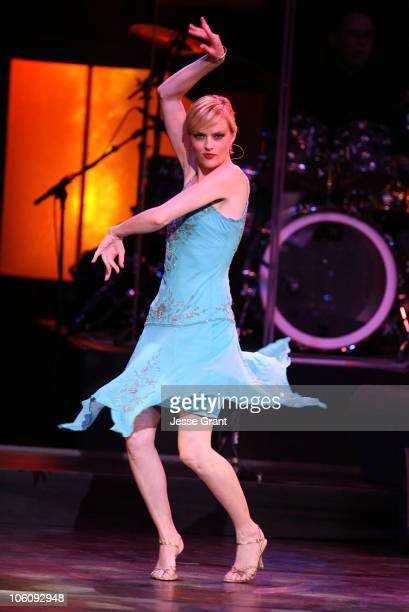 Elaine Hendrix during What a Pair 4! - Show at Wiltern/LG Theatre in Los Angeles, CA, United States.
