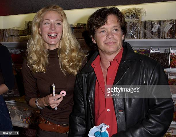 Elaine Irwin John Mellencamp during Dylan's Candy Bar Opening at Dylan's Candy Bar in New York City New York United States