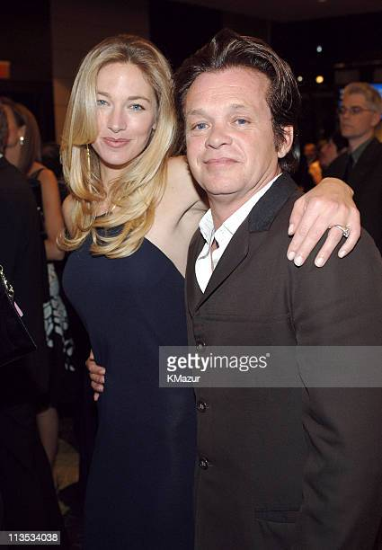 Elaine Irwin Mellencamp and John Mellencamp during 40th Anniversary of Syracuse University's SI Newhouse School of Public Communication May 3 2005 at...