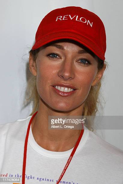 Elaine Irwin Mellencamp during Entertainment Industry Foundation and Revlon Present the 11th Annual Run/Walk for Women Red Carpet at Los Angeles...