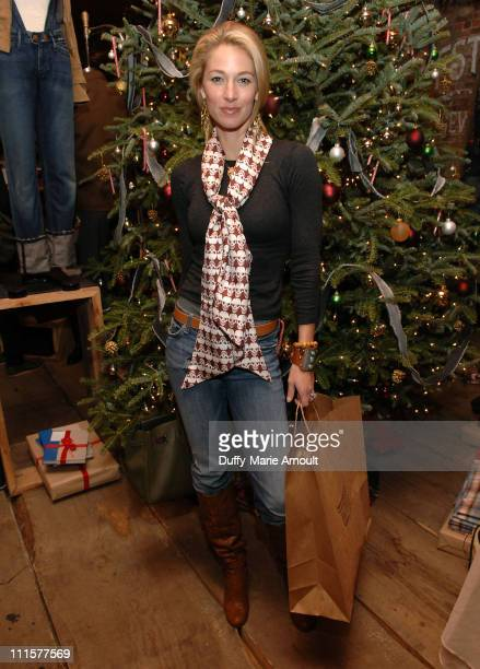 Elaine Irwin Mellencamp during John Mellencamp and Elaine Irwin Mellencamp Sighting at MPD 'Starry Night' December 14 2006 at Meatpacking District in...