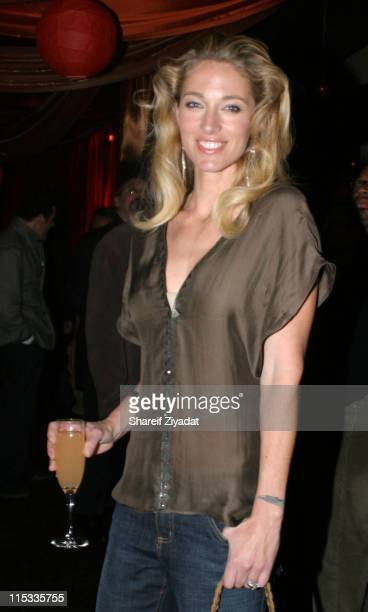 Elaine Irwin Mellencamp during Veronica Webb's 40th Birthday Party at Mission in New York City New York United States