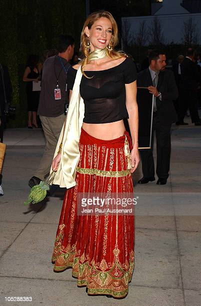 Elaine IrwinMellencamp during 2004 Vanity Fair Oscar Party Arrivals at Mortons in Beverly Hills California United States
