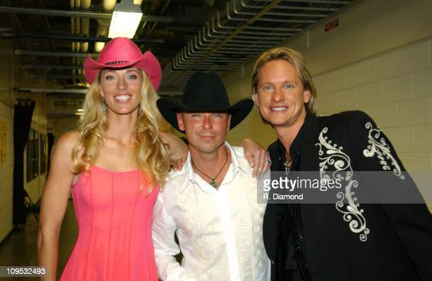Elaine IrwinMellencamp Kenny Chesney and Carson Kressley