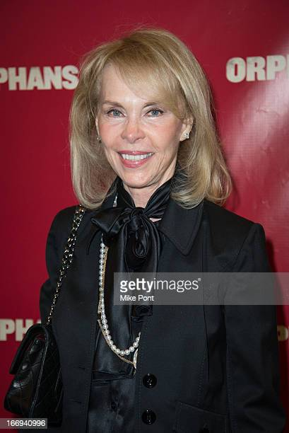 Elaine Joyce attends the Orphans Broadway opening night at the Gerald Schoenfeld Theatre on April 18 2013 in New York City