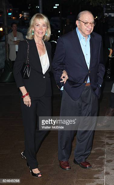 Elaine Joyce Neil Simon attending the Memorial To Honor Marvin Hamlisch at the Peter Jay Sharp Theater in New York City on 9/18/2012
