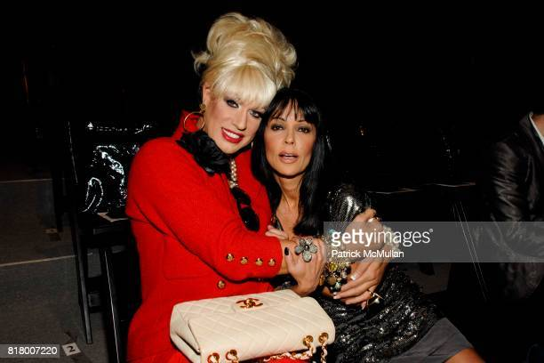Elaine Lancaster and Apollonia attend Richie Rich 2011 Fashion Show at The Studio at Lincoln Center on September 9 2010 in New York City