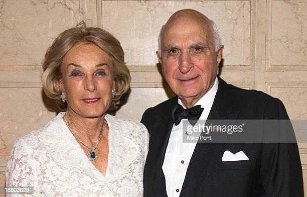 Elaine Langone and Ken Langone attend the 20th New York Landmarks Conservancy's Living Landmarks Ceremony at The Plaza Hotel on November 14 2013 in...