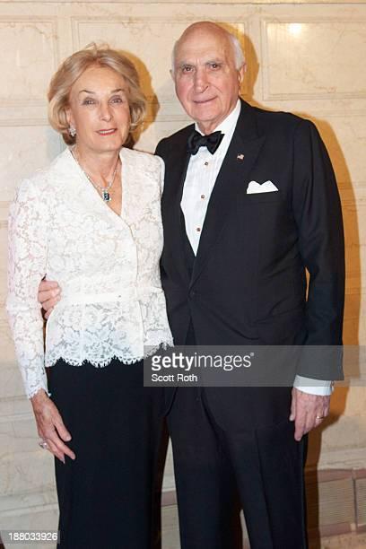 Elaine Langone and Ken Langone attend the New York Landmarks 20th Living Landmarks ceremony at The Plaza Hotel on November 14 2013 in New York City