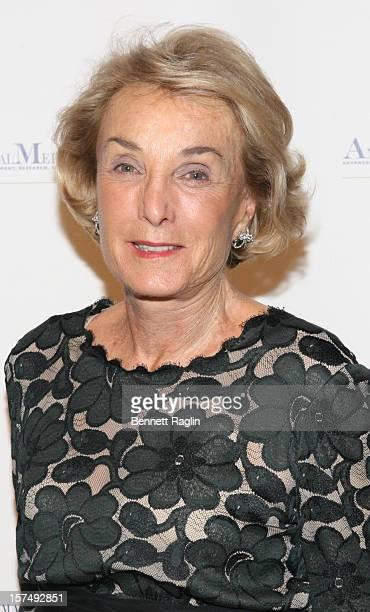 Elaine Langone attends The Animal Medical Center's TOP DOG Gala at Cipriani 42nd Street on December 3 2012 in New York City