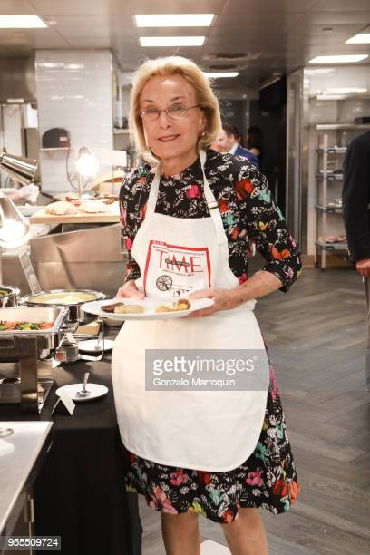 Elaine Langone during the Through The Kitchen Benefit For Cancer Research Institute on May 6 2018 in New York City