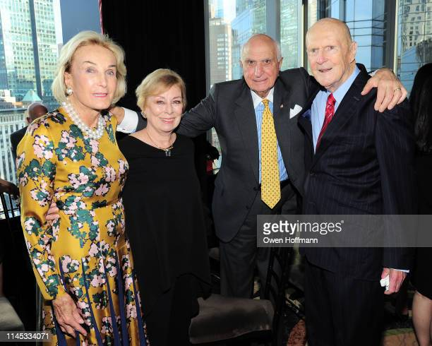 Elaine Langone Maria Aufiero Ken Langone and Julian Robertson attend BCNY Annual Awards Dinner at Mandarin Oriental on May 20 2019 in New York City