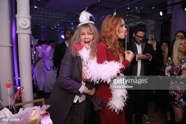 Elaine Lively and Robyn Lively attend the L'Oreal Paris Paints Colorista launch event at West Edge on February 13 2017 in New York City
