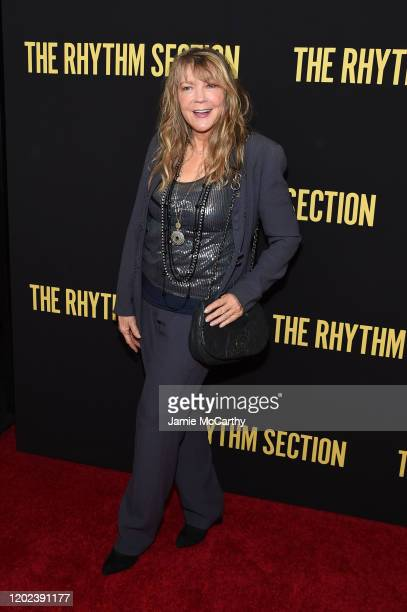 Elaine Lively attends the screening of The Rhythm Section at Brooklyn Academy of Music on January 27 2020 in New York City
