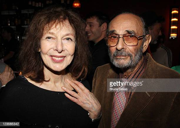 Elaine May and Stanley Donen attend the 2011 New York Drama Critic's Circle Awardsat Angus McIndoe on May 16 2011 in New York City