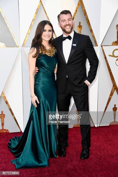 Elaine McMillion Sheldon and Kerrin Sheldon attend the 90th Annual Academy Awards at Hollywood Highland Center on March 4 2018 in Hollywood California