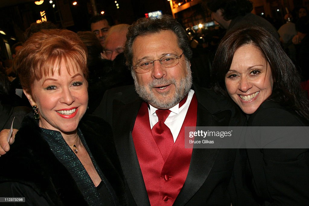 Elaine Orbach, Tony Mordente and Lisa Mordente