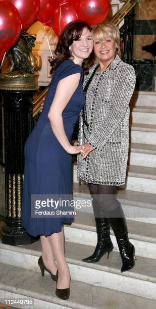 Elaine Page and fellow cast member during 'The Drowsy Chaperone' West End Photocall at Novello Theatre in London Great Britain