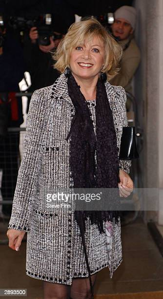Elaine Paige arrives for the eight annual South Bank Show Awards at The Savoy on January 23 2004 in London The Awards reward excellence in everything...