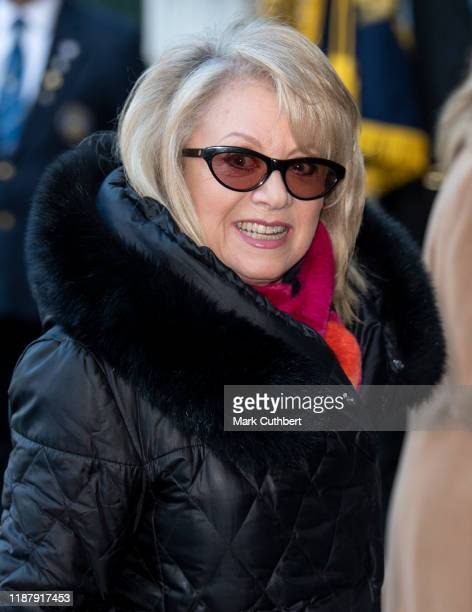 Elaine Paige attends a Service of Thanksgiving for the life and work of Sir Donald Gosling at Westminster Abbey on December 11 2019 in London England