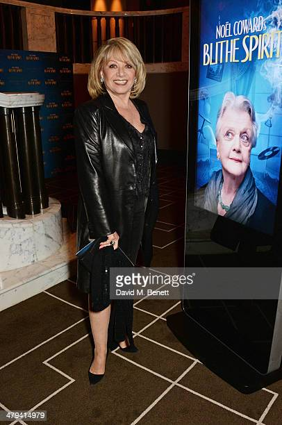Elaine Paige attends an after party celebrating the press night performance of 'Blithe Spirit' at the Rosewood Hotel on March 18 2014 in London...