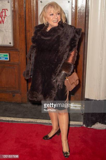 Elaine Paige attends Press Night of The Upstart Crow at the GIELGUD THEATRE SHAFTESBURY AVE 17 February 2020 in London England