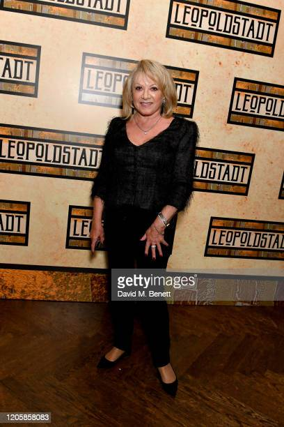 Elaine Paige attends the After Party of the press night performance of Tom Stoppard's Leopoldstadt at the Century Club on February 12 2020 in London...