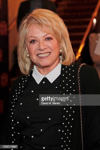 Elaine Paige attends the gala night performance of The Prince of Egypt at the Dominion Theatre on February 25 2020 in London England