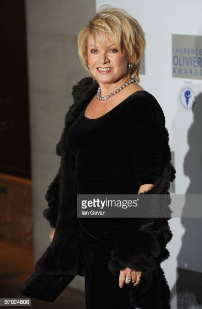 Elaine Paige attends the Laurence Olivier Awards at The Grosvenor House Hotel on March 21 2010 in London England
