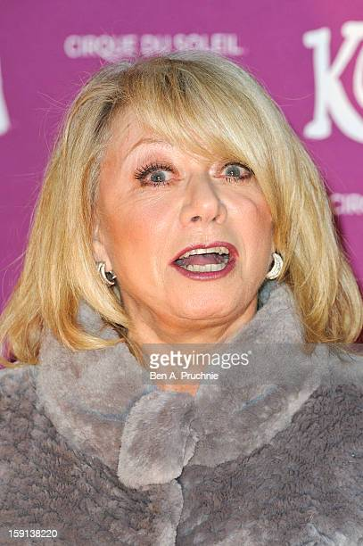 Elaine Paige attends the opening night of Cirque Du Soleil's Kooza at the Royal Albert Hall on January 8 2013 in London England