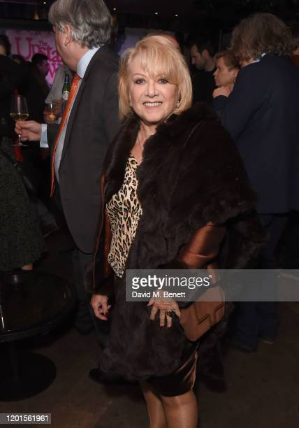 Elaine Paige attends the press night after party for The Upstart Crow at 100 Wardour St on February 17 2020 in London England